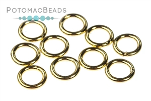 Other Beads & Supplies / Metal Beads & Findings / Jump Rings & Ring Links / Gold & Vermeil Rings