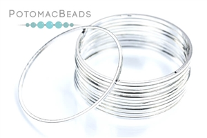 Other Beads & Supplies / Metal Beads & Findings / Jump Rings & Ring Links / Silver Plated Rings