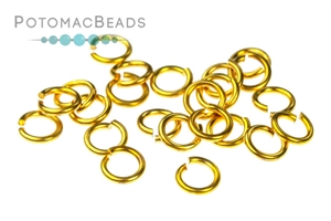 Jewelry Making Supplies & Beads / Metal Beads & Beads Findings / Jump Rings & Ring Links / Gold Plated Rings