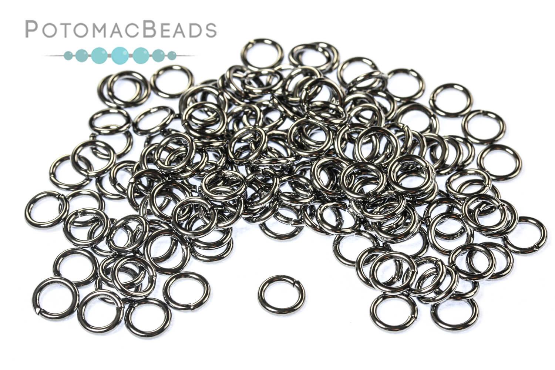 Jewelry Making Supplies & Beads / Metal Beads & Beads Findings / Jump Rings & Ring Links / Gunmetal Rings