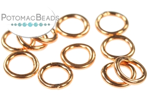 Other Beads & Supplies / Metal Beads & Findings / Jump Rings & Ring Links / Copper Rings