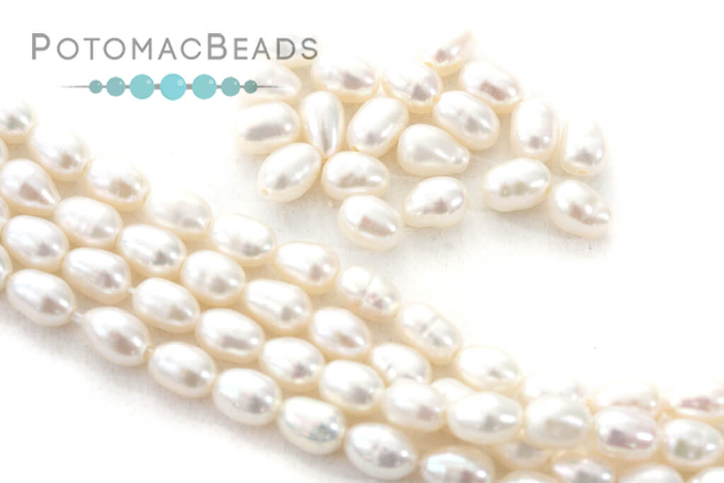 Other Beads & Supplies / Pearls / Freshwater Rice Pearls