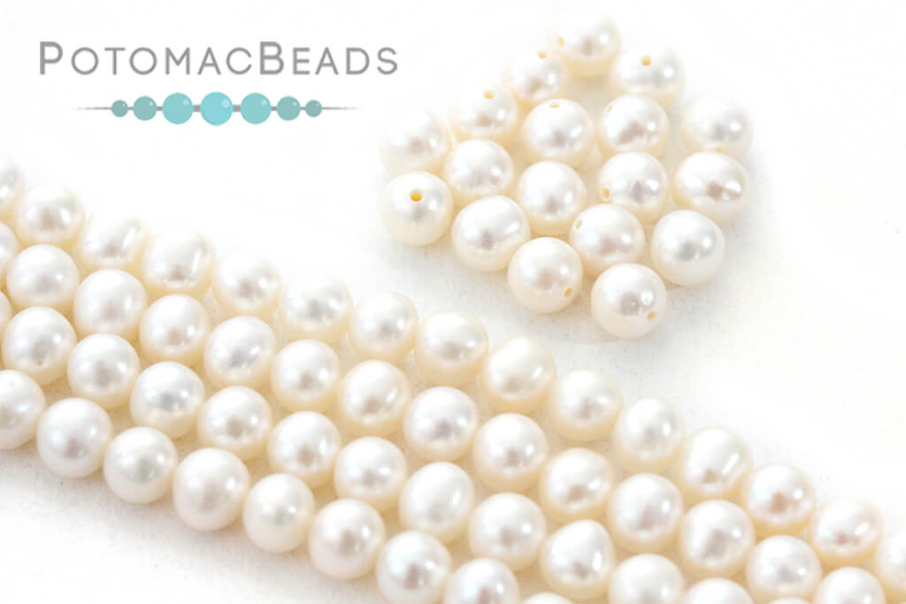 Other Beads & Supplies / Pearls / Freshwater Round Pearls