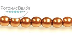 Czech Pressed Glass Beads / Rounds (Druks) / 3mm Beads