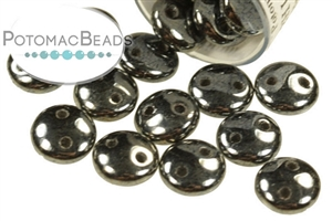 Czech Pressed Glass Beads / Czech Glass & Japanese Two Hole Beads / Lentils (2-hole)