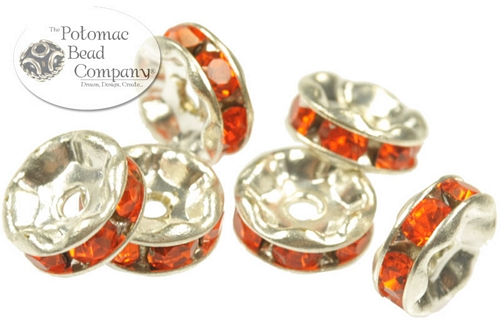 Jewelry Making Supplies & Beads / Beads and Crystals / Crystal Spacers