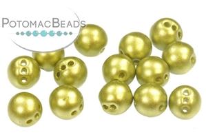 Czech Pressed Glass Beads / RounTrio® Beads