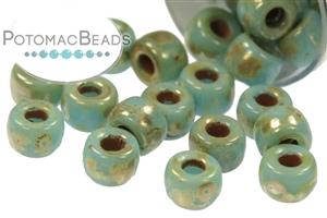 Czech Pressed Glass Beads / All Matubo Beads / Czech Matubo Beads Size 6/0