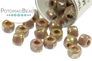 Seed Beads / Czech Matubo Seed Beads / Czech Hex Cut Matubo Beads (6/0)