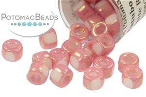 Czech Pressed Glass Beads / All Matubo Beads / Czech Hex Cut Matubo Beads Size 6/0