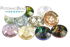 Jewelry Making Supplies & Beads / Buttons / Potomac Crystal Buttons