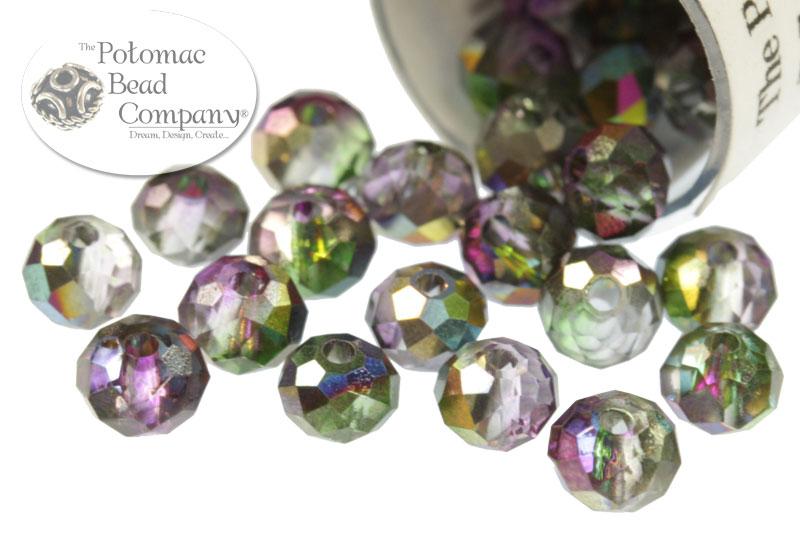 Potomac Exclusives / Potomac Crystals (All) / Potomac Crystal Rondelles / Crystal Rondelles Beads