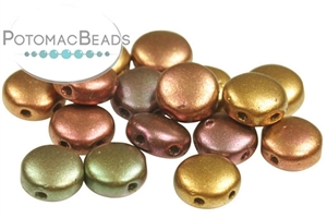 Czech Pressed Glass Beads / DiscDuo® Beads