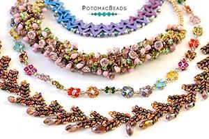 How to Bead Jewelry / Beading Tutorials & Jewel Making Videos / Bead Weaving Tutorials & Necklace Tutorial