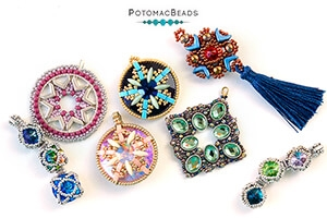 How to Bead Jewelry / Beading Tutorials & Jewel Making Videos / Pendant Projects