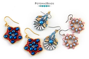 How to Bead Jewelry / Beading Tutorials & Jewel Making Videos / Earring Projects