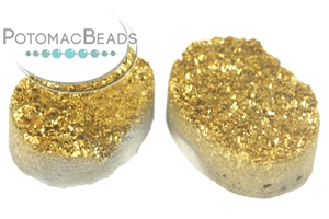 Jewelry Making Supplies & Beads / Cabochons Beads / Druzy Cabochons