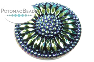 Other Beads & Supplies / Cabochons / Czech Cabochons / Button Tops