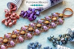 How to Bead Jewelry / Free Beading Patterns PDF / DiamonDuo Bead Patterns