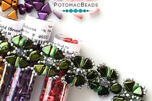 How to Bead Jewelry / Free Beading Patterns PDF / Kheops Par Puca Bead Patterns