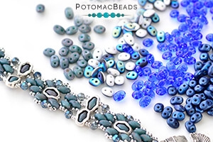 How to Bead Jewelry / Free Beading Patterns PDF / SuperDuo Bead Patterns