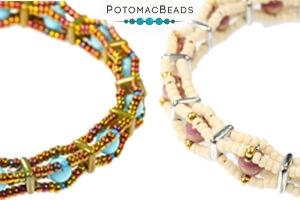 How to Bead Jewelry / Free Beading Patterns PDF / QuadraTile Bead Patterns