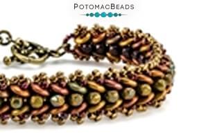 How to Bead Jewelry / Free Beading Patterns PDF / QuadraLentil Bead Patterns