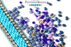 How to Bead Jewelry / Free Beading Patterns PDF / MiniDuo Bead Patterns