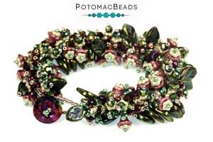 How to Bead Jewelry / Free Beading Patterns PDF / Rizo & Dagger Bead Patterns