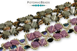 How to Bead Jewelry / Free Beading Patterns PDF / Pinch Bead Patterns
