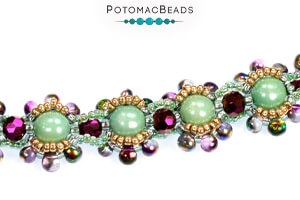 How to Bead Jewelry / Free Beading Patterns PDF / Drop Bead Patterns