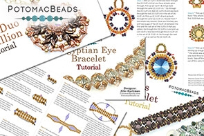 How to Bead / PotomacBeads Exclusive PDF Patterns