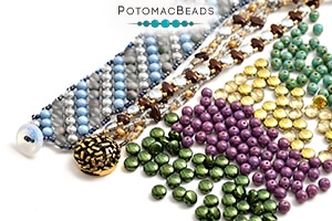 How to Bead Jewelry / Free Beading Patterns PDF / DiscDuo Bead Patterns