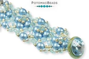 How to Bead Jewelry / Free Beading Patterns PDF / RounDuo Bead Patterns