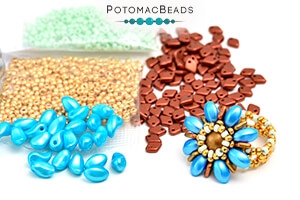 How to Bead Jewelry / Free Beading Patterns PDF / Lily Petal Bead Patterns