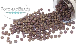 Seed Beads / Toho Seed Beads Size 15/0 / Toho Seed Beads Size 15/0 Semi-Glazed Colors