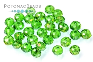 Jewelry Making Supplies & Beads / Beads and Crystals / Rondelles 2x3mm