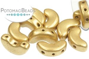 Czech Pressed Glass Beads / 3 Hole Beads / Arcos® par Puca® Beads