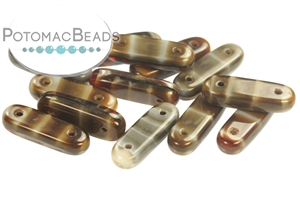 Czech Glass / 2-Hole Beads / 2-Hole Bar (15mm)