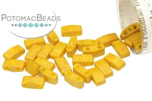Czech Pressed Glass Beads / Czech Glass & Japanese Two Hole Beads / Miyuki Half Tila