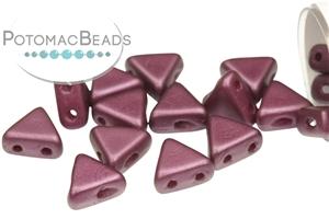 Czech Pressed Glass Beads / Czech Glass & Japanese Two Hole Beads / Kheops® par Puca®