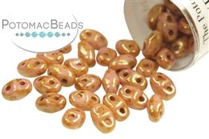 Czech Pressed Glass Beads / Czech Glass & Japanese Two Hole Beads / MiniDuo® Beads