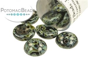 Czech Pressed Glass Beads / Czech Glass & Japanese Two Hole Beads / Piggy Beads