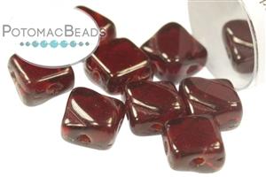 Czech Glass / 2-Hole Beads / Silky Beads
