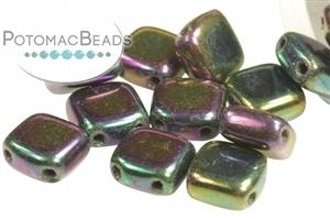 Czech Pressed Glass Beads / CzechMates Beads / CzechMates 2-Hole Tiles