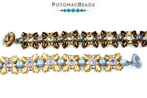 How to Bead Jewelry / Free Beading Patterns PDF / Demi Round & Spacer Bead Patterns