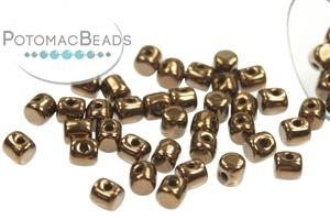 Czech Pressed Glass Beads / Minos® par Puca® Beads