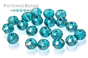 Jewelry Making Supplies & Beads / Beads and Crystals / Potomac Crystal Rondelles 3x4mm