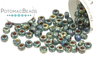 Seed Beads / Miyuki Seed Beads (8/0) / 8/0 Picasso Colors