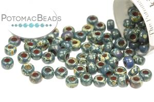 Seed Beads / Miyuki Seed Beads (8/0) / Miyuki 8/0 Seed Beads: Picasso Colors
